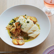 Food & Wine: Cod with Potatoes and Salsa Verde