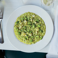 Food & Wine: Fava Bean and Cauliflower Risotto