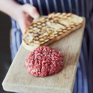 Food & Wine: Hand-Chopped Spiced Beef Tartare
