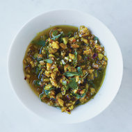 Food & Wine: Oil-Cured Olive-and-Anchovy Sauce