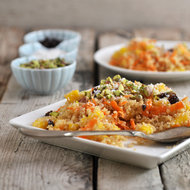 Food & Wine: Quinoa Porridge with Carrots and Mango