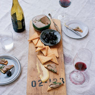 Food & Wine: Chicken Liver Mousse with Red-Wine-Glazed Prunes