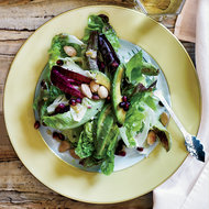 Food & Wine: Winter Salad with Avocado, Pomegranate and Almonds