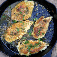 Food & Wine: Almond Flour-Crusted Chicken Piccata