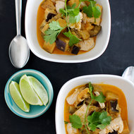 Food & Wine: Chicken and Eggplant Red Curry