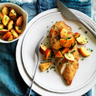 Food & Wine: Chicken with Peach-Jalapeño Salsa