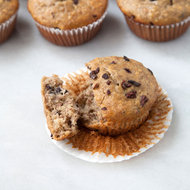 Food & Wine: Banana Muffins with Cocoa Nibs