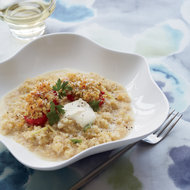 Food & Wine: Quinoa Risotto with Lemon and Roasted Tomatoes