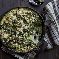 Food & Wine: Creamed Spinach with Montreal Salted Herbs