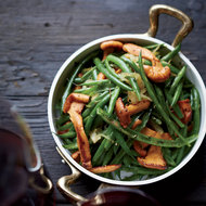 Food & Wine: Haricots Verts with Chanterelles