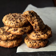 Food & Wine: Big Bakery-Style Mini Chocolate Chip Toffee Cookies