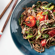 Food & Wine: Soba Noodles with Miso-Roasted Tomatoes