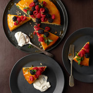 Food & Wine: Almond Cake with Fresh Berries