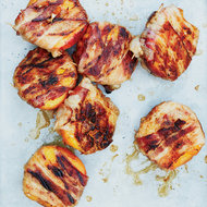 Food & Wine: Bacon-Wrapped Peaches