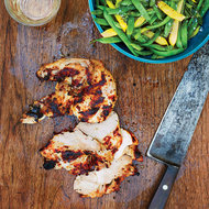Food & Wine: Yogurt-Marinated Grilled Chicken