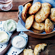 Food & Wine: Bannock Scones with Three Butters