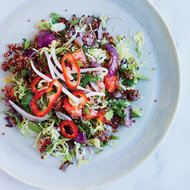 Food & Wine: Toasted Quinoa, Charred Onion and Brussels Sprout Salad