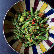 Food & Wine: Blistered Shishito Peppers with Miso
