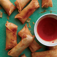 Food & Wine: Spring Rolls with Pork and Glass Noodles