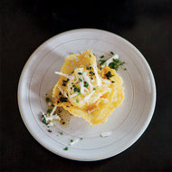 Food & Wine: Crispy Frico Cups with Polenta and Brown Butter