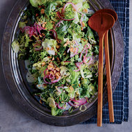 Food & Wine: Escarole-and-Brussels Sprout Salad