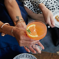 Food & Wine: Blood Orange-Rosemary Fizz