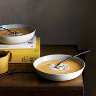 Food & Wine: Squash Soup with Pumpkin Seeds