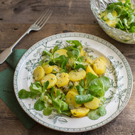 Food & Wine: Light Potato and Mâche Salad