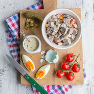 Food & Wine: Luxembourgish Flintstone Salad