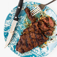 Food & Wine: Harissa-Marinated Steak