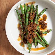 Food & Wine: Blistered Green Beans with XO Sauce