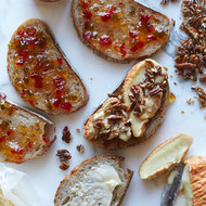Food & Wine: Époisses Grilled Cheese and Pepper Jelly Sandwiches