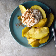Food & Wine: Stewed Apples with Chai-Spiced Cashew Cream