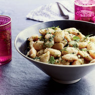 Food & Wine: Stewed White Beans with Green Chile and Herbs