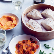 Food & Wine: Steamed Sea Bass with Carrots Three Ways
