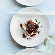 Food & Wine: Warm Tofu with Soy-Ginger Sauce