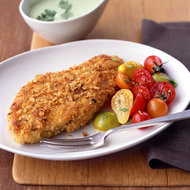 Food & Wine: Amazon Fried Chicken Breasts with Cilantro Sauce