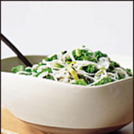 Food & Wine: Asian Noodles with Fresh and Pickled Greens