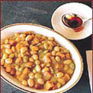 Food & Wine: Fresh Bean and Corn Stew with Paprika Oil