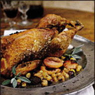 Food & Wine: Guinea Hen with Fall Fruits