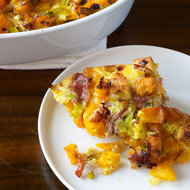 Food & Wine: Thanksgiving Savory Bread Puddings