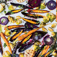 Food & Wine: Roasted Vegetables