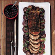 Food & Wine: Leg Of Lamb with Dried-Cherry Sauce