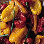 Food & Wine: Roasted Cherry Peppers with Balsamic Vinegar