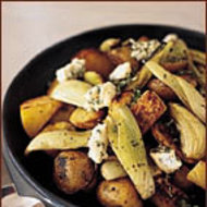 Food & Wine: Root Vegetables with Gorgonzola