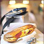 Food & Wine: Spanish Omelet Sandwiches