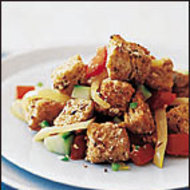Food & Wine: Spicy Bread and Tomato Salad