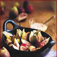 Food & Wine: Fresh Figs and Plums in Manzanilla