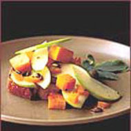 Food & Wine: Honey Pumpkin Salad with Sage Croutons