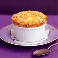 Food & Wine: Apricot and Almond Soufflés